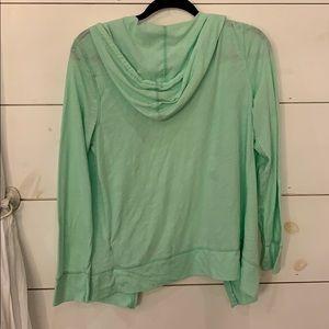 Old Navy Tops - Mint Green Zip Up Sweater